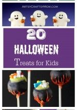 20 Absolutely Adorable Halloween Treats for Kids