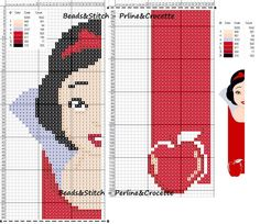 Ponto cruz da Branca de Neve! Snow White - Disney pattern