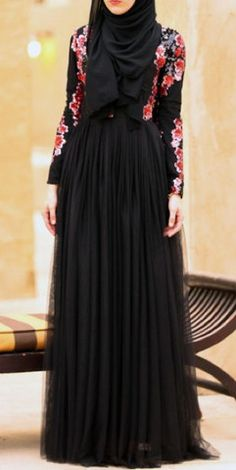 Stunning Modest long sleeve tulle gown with sequin top | Mode-sty tznius hijab fashion style muslim eid dress muslim mormon jewish christian lds islamic