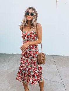 5 Floral Dresses for Summer | Cella Jane