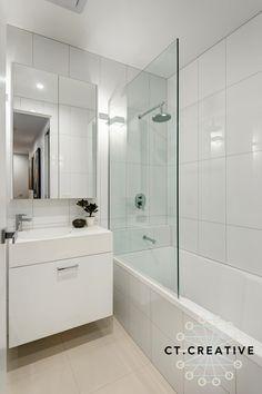 North Melbourne bathroom. CT Creative.