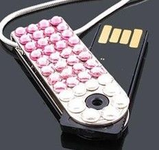 Diamond USB Flash Drive.
