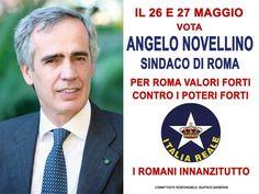 Angelo Novellino, sindaco di Roma | ITALIA REALE - Stella e Corona
