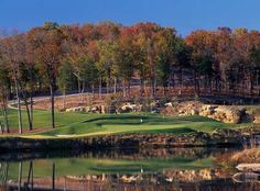 The 4th Hole at Payne Stewart Golf Club, Branson, MO, in the Fall Season!
