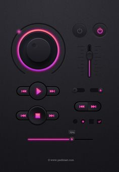 Nice Dark Music Player UI kit PSD. Download Free Dark Music Player UI kit PSD file. Dark Music player user interface design with modern control panels. Sleek and professional looking UI kit made in Photoshop with organize layered. Enjoy!  #audio #clean #creative #dark #design #detailed #digital #downloadpsd #elements #flash #FLV #free #freepsd #fresh #Graphical #guikit #GUISet #HD #hi-res #interface #kit #media #modern #mp3 #music #new #original #pack #play #player #psd #Quality #resources…