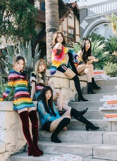 I recently discovered a new genre of music called kpop. This is from a kpop girl group called Red Velvet. What first attracted me to them was, well, my sister, but in terms of their music it's the catchy beat and lyrics. Kpop Girl Groups, Korean Girl Groups, Kpop Girls, Irene Red Velvet, Red Velvet Seulgi, Red Velvet Wendy, Red Velvet Joy, Black Velvet, Christina Aguilera