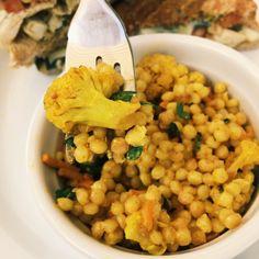 Copycat Mendocino Farms Curry Cauliflower Couscous Recipe