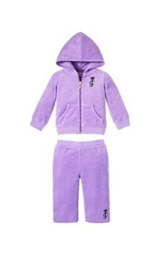 Juicy Couture Terry Tracksuit in Orchid-18mo Juicy Couture. $68.00