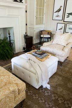 White Chest Coffee Table