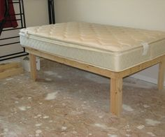Cheap Easy Low Waste Platform Bed Plans Diy Platform Bed Loft