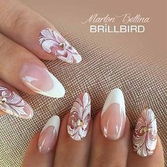 Trendy Acrylic Nail Designs Youll Love ★ See more: https://naildesignsjournal.com/acrylic-nail-designs/ #nails