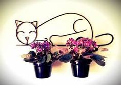 suporte para vasos de plantas em ferro - Buscar con Google
