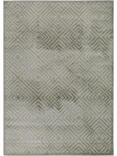 Tappeto Shine Verde/Grigio 160x230 cm