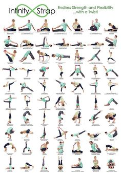 70 stretches using Infinity Straps