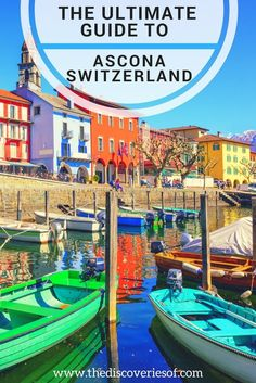 Ascona, Switzerland is a Swiss Town on the banks of Lake Maggiore and on the Italian border. Here's your travel guide to inspire your next trip to Ascona.