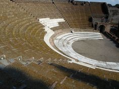 a theater in pompeii