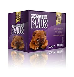 Puppy Pee Training Pads By Pads.100 Count Pet Pads-Ideal for House Breaking Your New Pet-Soft Padding