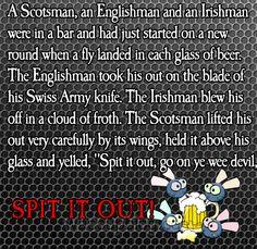 Scottish jokes feature in this weeks Friday Funnies fun scottish image - WassupBlog