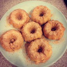 Gluten free & dairy free Sugar-and-spiced Doughnuts #nom