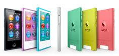 The new iPod Nano - pretty colors, bigger screen and more!