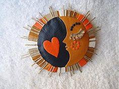 Odznaky/Brošne - Srdečný mesiačik - 2822993
