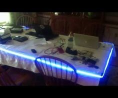 This tutoiral will show you how to use Arduino and to control a set of leds using music played from your computer. This tutorial requires:-Arduino (I used a leonardo)-small breadboard w/ jumper wires (kit is the best deal)-rgb led strip (I used these)- 12v 6A power supply for the lights (something like this will be fine)-3 N-Channel mosfets (here)-A computer with processing 2.2.1 installed with the proper libraries-and Arduino IDE
