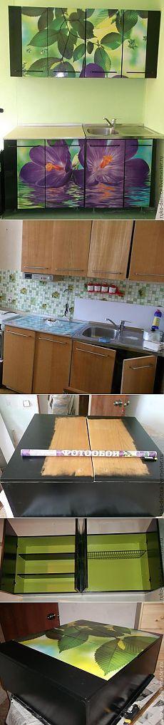 Оригинальное бюджетное обновление кухонной мебели — Своими руками