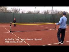 Kids Tennis Lesson (live) - part 4 - how to teach tennis to little kids (age 4 - 10) - see full lesson at WebTennis24.com #LearningtoPlayTennis