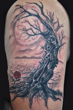1000 ideas about dead tree tattoo on pinterest under for Death tree tattoo
