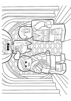 The 51 best Lego Movie Coloring Pages images on Pinterest ...