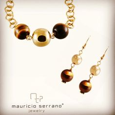Our Tiger Eye is a Gold's Must!! #ATrueJewel  mauricioserrano.com