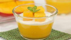 Mango Desserts, Asian Desserts, No Cook Desserts, Summer Desserts, Dessert Recipes, Asian Recipes, Mango Pudding, Pudding Desserts, Pudding Recipes