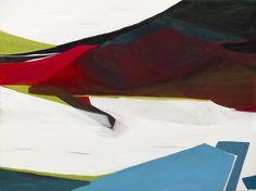 紅色的小山坡 林瑋萱 油畫 97x130.5x5cm x1p
