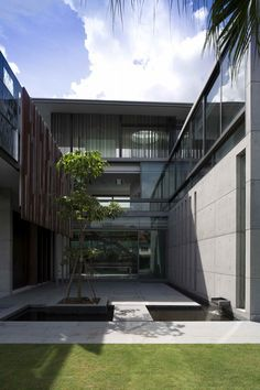 The Courtyard House by AR43 Architects, Singapore, Singapore - 2013