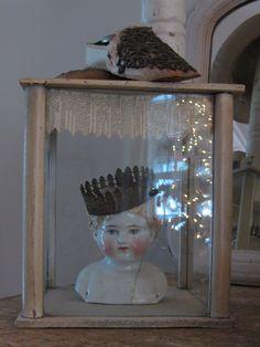 www.nicolsayre.com shabby romantic chic crown with angel decor cottage cabin bungalow white decor