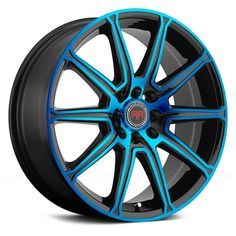 400c803ac7a2 REVOLUTION RACING® - RR03 Black with Blue Face Racing Wheel