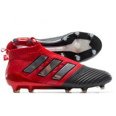 low priced 50f76 445cf Adidas ACE 17+ Purecontrol Botas De Futbol Rojo Plata Negro Sala