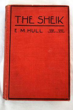 1919 Vintage Novel The Sheik by E. M. Hull by LostLeaflets on Etsy, $9.00
