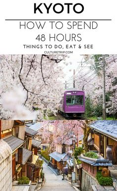 How to Spend 48 Hours in Kyoto - Hours Kyoto osaka Spend - Natur - Travel Journal Tokyo Japan Travel, Japan Travel Guide, Asia Travel, Japan Trip, Hotels In Kyoto Japan, Tokyo Trip, Nara Japan, Okinawa Japan, Kyoto Itinerary