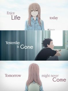 That's true Anime:Koe no Katachi - Shounen And Trend Manga Sad Anime Quotes, Manga Quotes, Sad Quotes, Inspirational Quotes, A Silent Voice Anime, Voice Quotes, Howl's Moving Castle, Anime Life, Meaningful Quotes