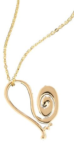 "The ""Power Swirl"" Heart pendant.  Available in both 14k gold and sterling silver, this simple slide pendant is beautiful addition to any person's jewelry collection.  Available at http://www.goldcrafterscorner.com/leaves-and-swirls.html"