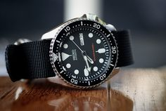 Seiko Diver SKX007.So cheap, so rad.