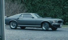 Ford 1969 Mustang Mach1 as seen on John Wick in John Wick | TheTake