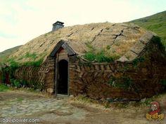 Viking Areas in Iceland - Eiríksstaðir Long House in West-Iceland Vikings Live, Norse Vikings, West Iceland, Medieval, Viking House, Viking Village, Guide To Iceland, Viking Reenactment, Long House