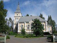 Vuonna 1882 valmistui Lindqvistin suunnittelema Toivakan kirkko