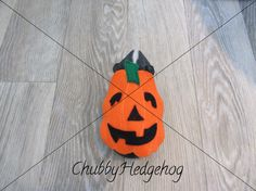 JACK-O-LANTERN / Pumpkin Hedgehog/Guinea pig  Hog-oween collection
