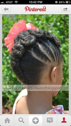 Kid protective style I want to try one day