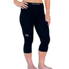 3/4 High Compression Capris