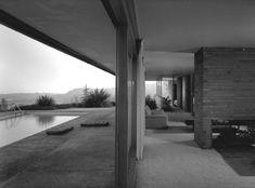 Clark house (1957). Richard Neutra.