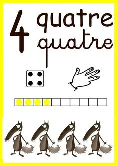 4 French Classroom, Classroom Rules, Classroom Language, Teaching Culture, Elementary Spanish, Numbers Preschool, Petite Section, Nursery School, Home Schooling